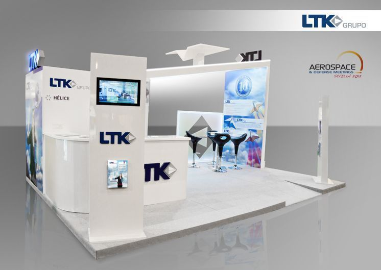 Stand LTK Grupo para el Aerospace & Defense Meetings 2012