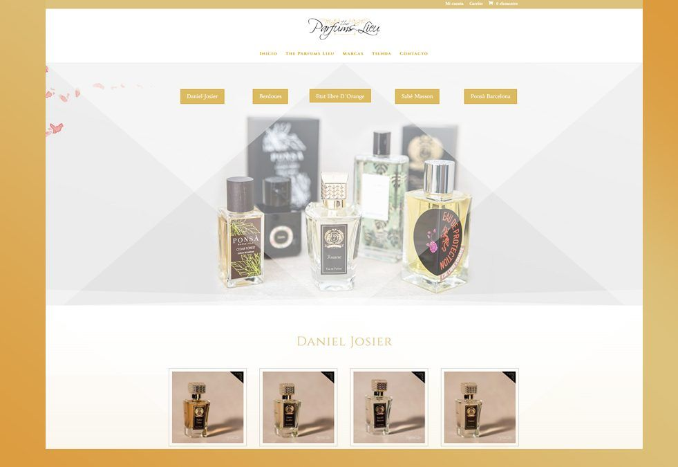 The Parfums Lieu · Web